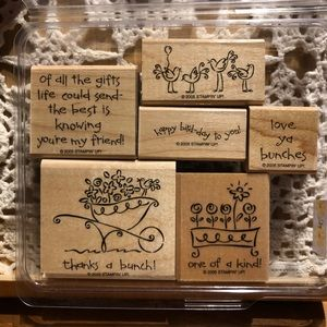 🍒 Stampin' Up! 🍒 « Love Ya Bunches » Stamps Set